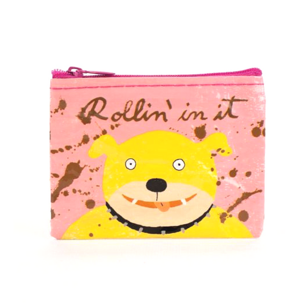 Blue Q Coin Purse | Rolling In It | Peticular