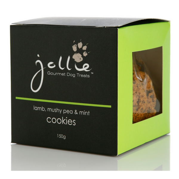 Jollie Lamb, Mushy Pea & Mint Cookies | Peticular