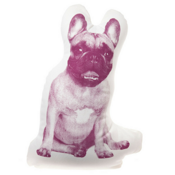 Areaware Fauna Cushion | French Bulldog | Peticular