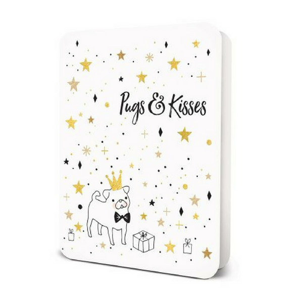 Blank Card | Pugs & Kisses