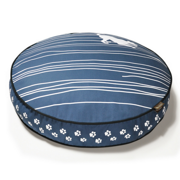 P.L.A.Y Dog On Wire Pet Bed | Blue | Peticular
