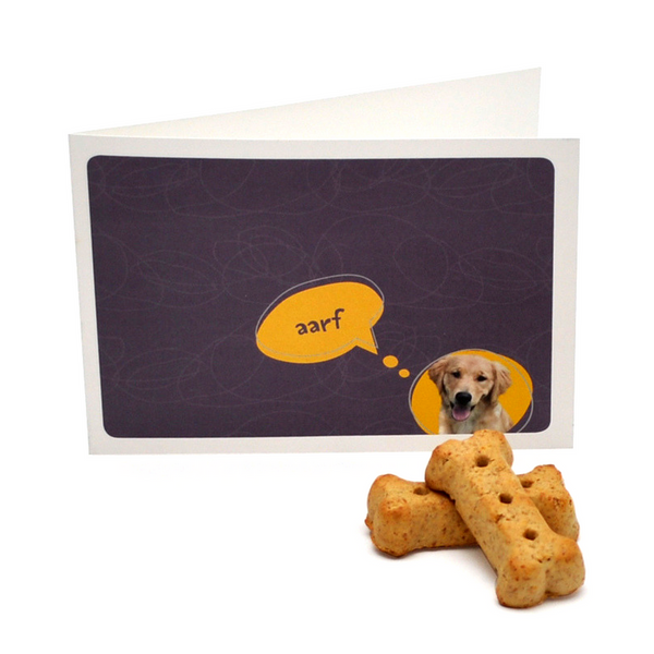 Papergirl Designs Dog Greeting Card & Gift Tag | Peticular