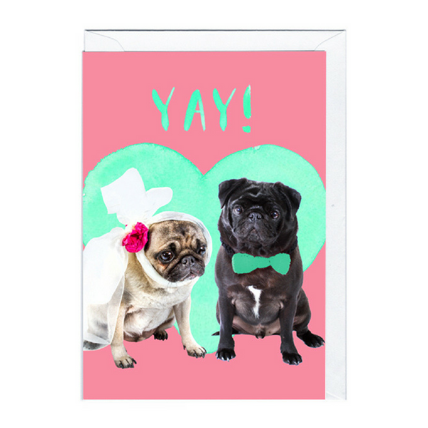Bobangles Wedding/Engagement Card | Happy Couple | Peticular