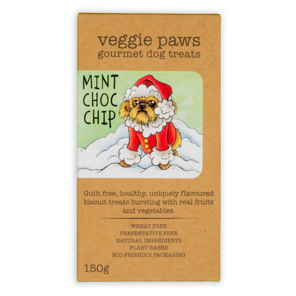 Mint Choc Chip Gourmet Christmas Dog Treats