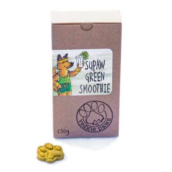 Supaw Green Smoothie Dog Treats