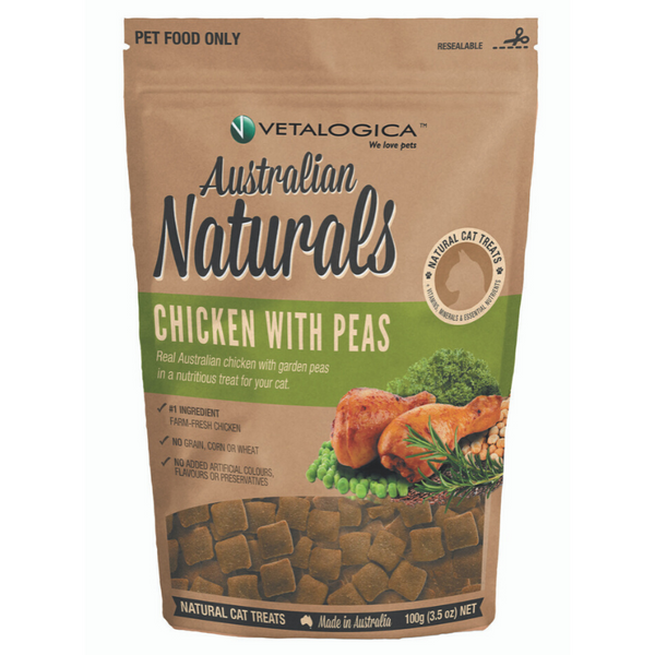 Vetalogica Australian Naturals Cat Treats | Chicken | Peticular