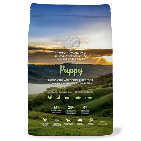 Vetalogica Biologically Appropriate | Puppy Dog Food | Peticular