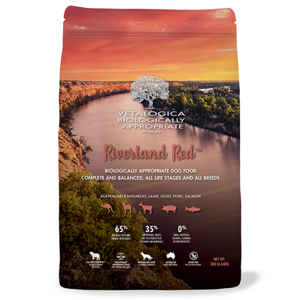Vetalogica Biologically Appropriate | Riverland Red Adult Dog Food | Peticular