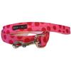 Polka Dot Collar | Red on Pink