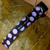 Polka Dot Collar | Purple on Brown