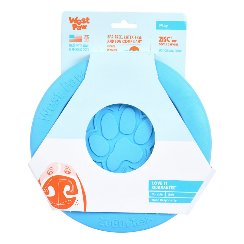 Zisc Tough Frisbee Dog Toy - Peticular