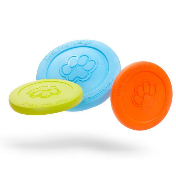West Paw Design Zisc Tough Frisbee Dog Toy | Peticular