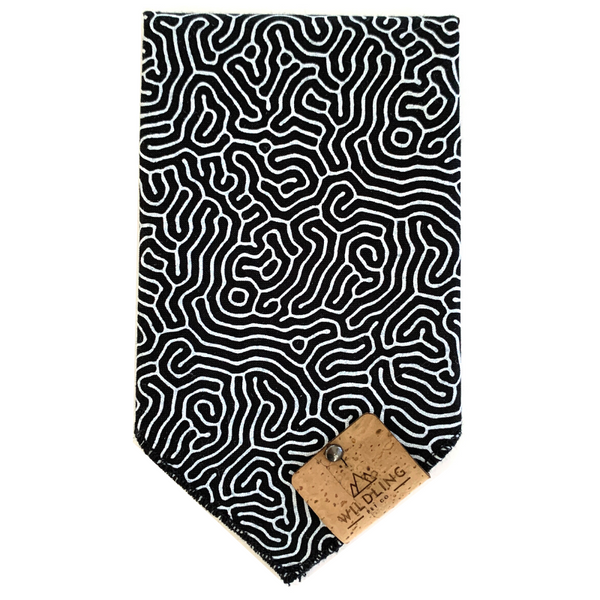 Wildling Pet Co. Dog Bandana | Maze | Peticular