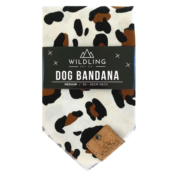 Wildling Pet Co. Dog Bandana | Safari | Peticular
