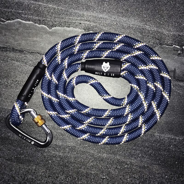 Marlin Brando Reflective Climbing Rope Dog Leash