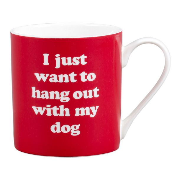 Wild & Wolf Mug | Hang Out With My Dog | Peticular