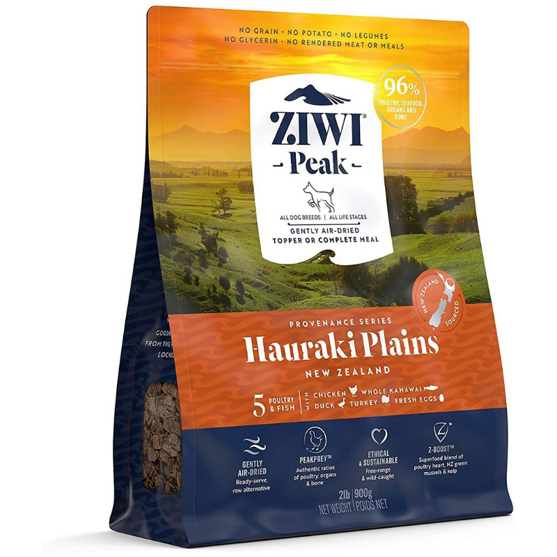 Ziwi Peak Air-Dried Dog Food & Topper | Hauraki Plains Recipe | Peticular
