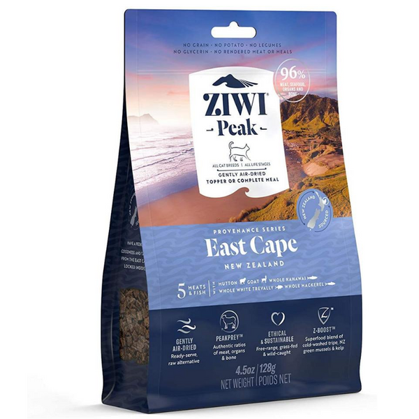 Ziwi Peak Air-Dried Cat Food & Meal Topper | East Cape | Peticular
