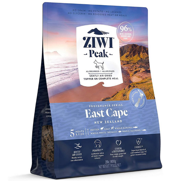 Ziwi Peak Air-Dried Dog Food & Topper | East Cape Recipe | Peticular