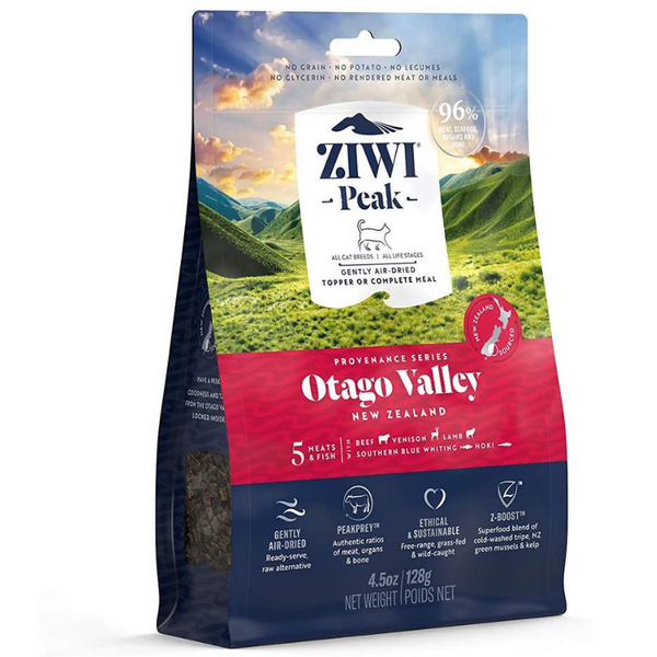 Ziwi Peak Air-Dried Cat Food & Meal Topper | Otago Valley | Peticular