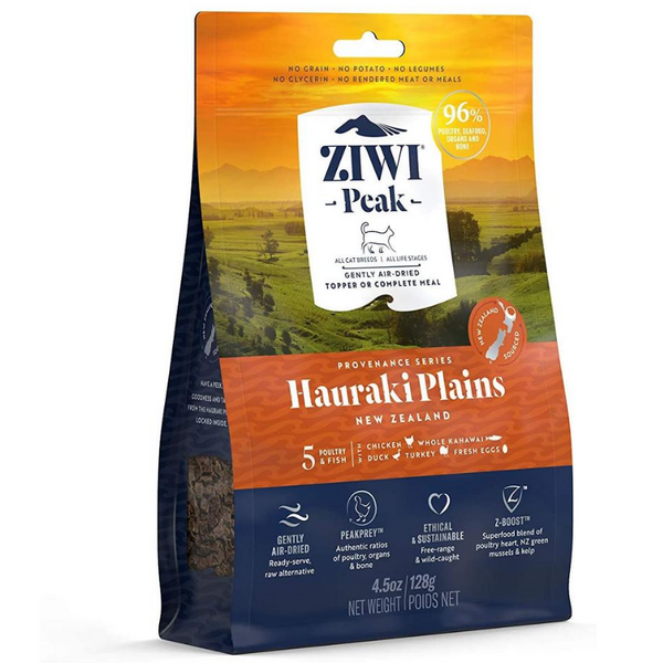 Ziwi Peak Air-Dried Cat Food & Meal Topper | Hauraki Plains | Peticular