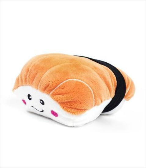 Zippy Paws NomNomz Plush Dog Toy | Sushi | Peticular