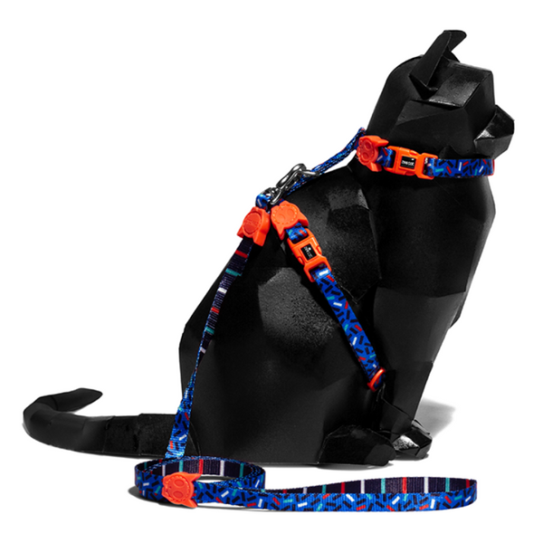 Zee.Cat Atlanta Cat Harness & Lead