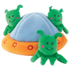 Interactive Dog Toy | Aliens In UFO