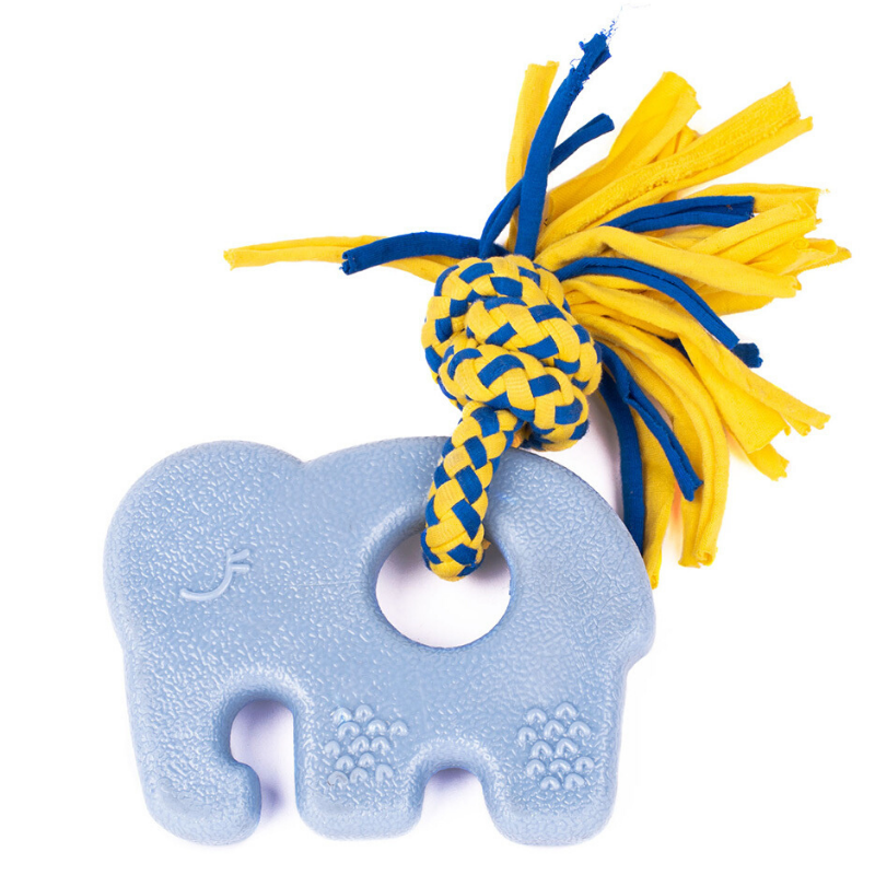 Zippy Paws ZippyTuff Teetherz | Elliot The Elephant | Peticular