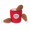 Interactive Dog Toy | Chicken Bucket
