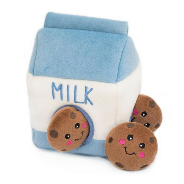 Interactive Dog Toy | Milk & Cookies