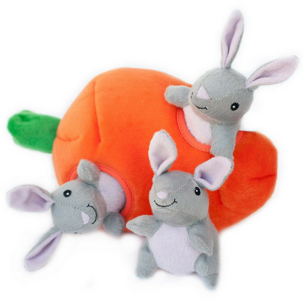 Interactive Dog Toy | Bunny 'n Carrot