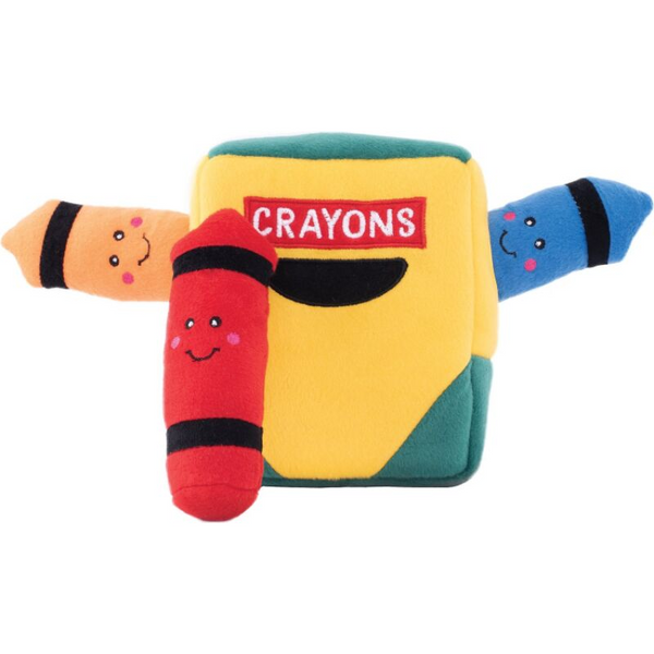 Interactive Dog Toy | Crayon Box