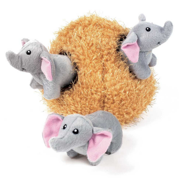 Interactive Dog Toy | Elephant Cave