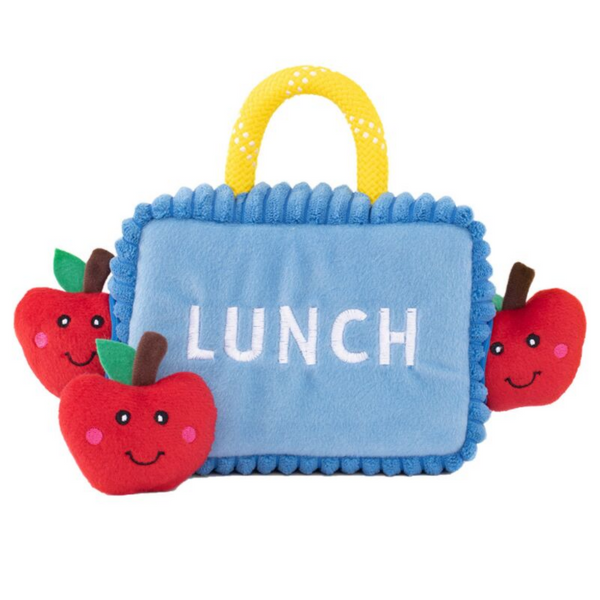 Interactive Dog Toy | Lunchbox With Apples