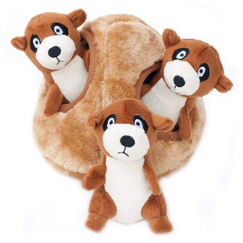 Zippy Paws Interactive Dog Toy | Meerkat Den | Peticular