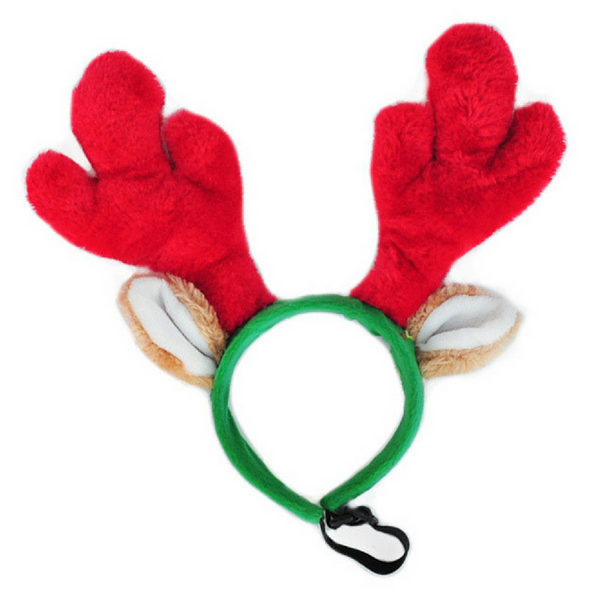 Zippy Paws Christmas Deer Antlers | Peticular