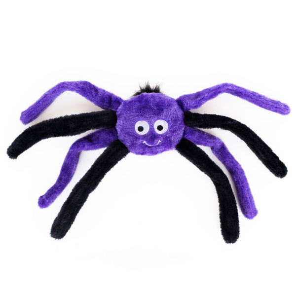 Zippy Paws Halloween Spiderz | Purple | Peticular