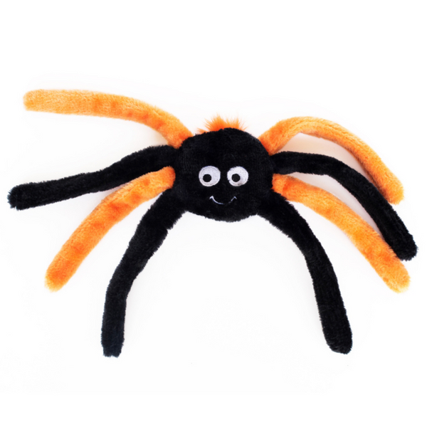 Zippy Paws Halloween Spiderz | Orange | Peticular