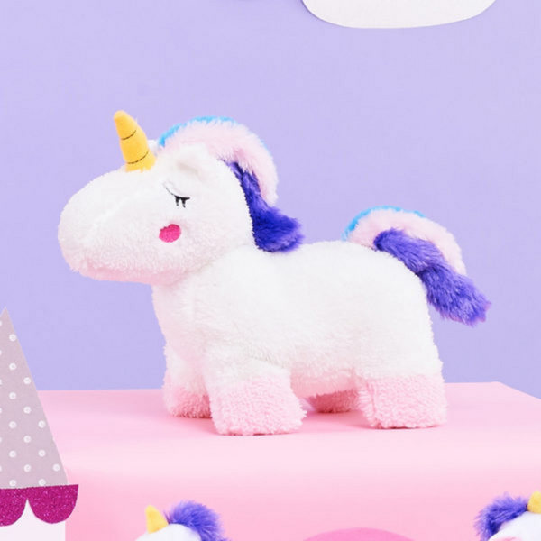Zippy Paws Snugglerz Dog Toy | Charlotte The Unicorn | Peticular