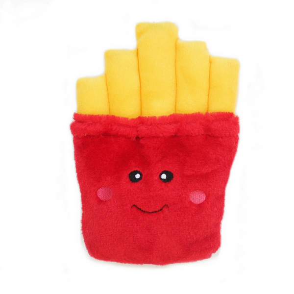 Zippy Paws NomNomz Plush Dog Toy | Fries | Peticular