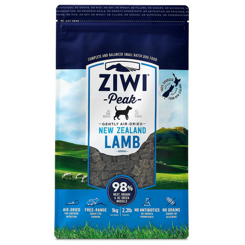 Ziwi Peak Air-Dried Dog Food | Lamb | Peticular