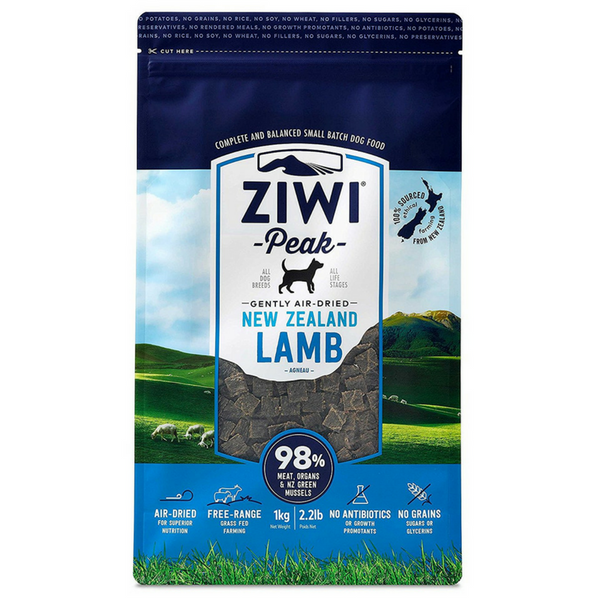 Air-Dried Dog Food | Lamb