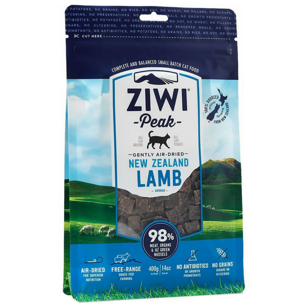 Ziwi Peak Air-Dried Cat Food | Lamb | Peticular