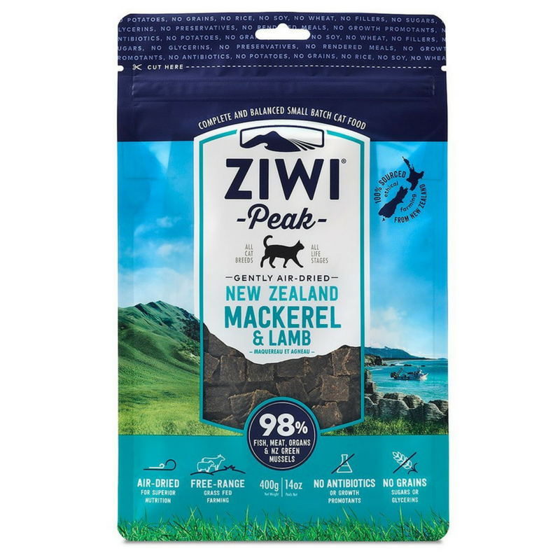 Ziwi Peak Air-Dried Cat Food | Mackerel & Lamb | Peticular