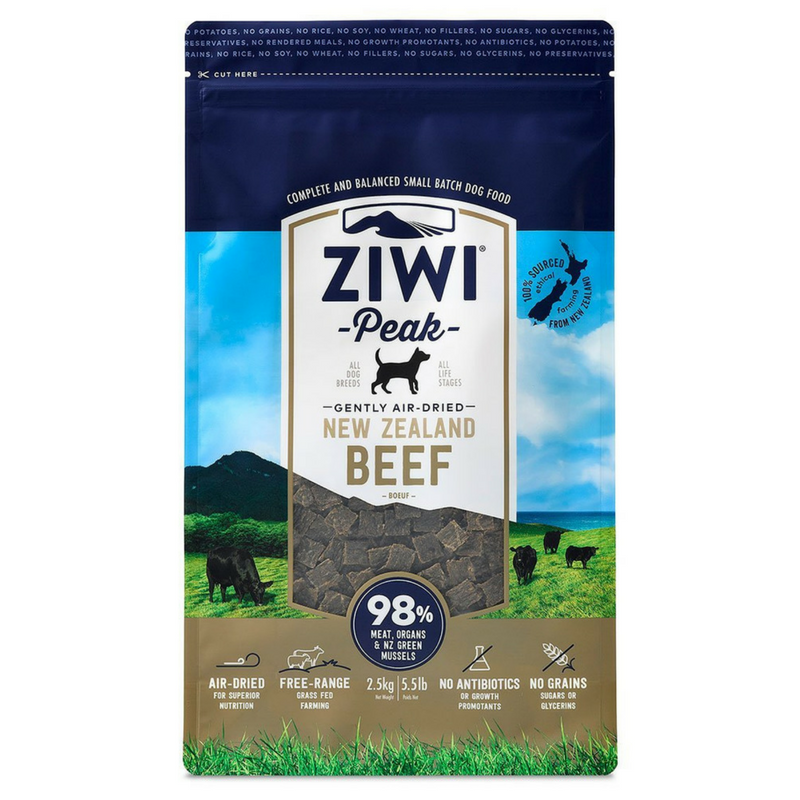 Ziwi Peak Air-Dried Dog Food | Beef | Peticular