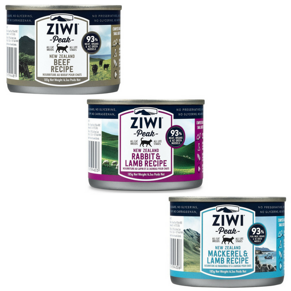 Ziwi Peak Moist Cat Food | 185g Can | Peticular