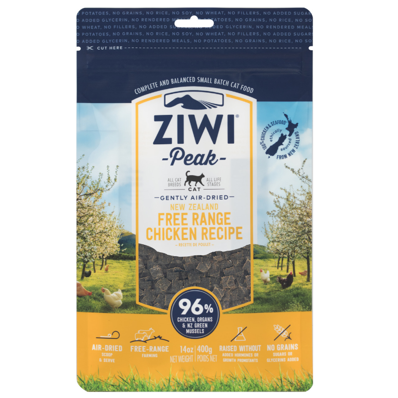 Ziwi Peak Air-Dried Cat Food | Free-Range Chicken | Peticular