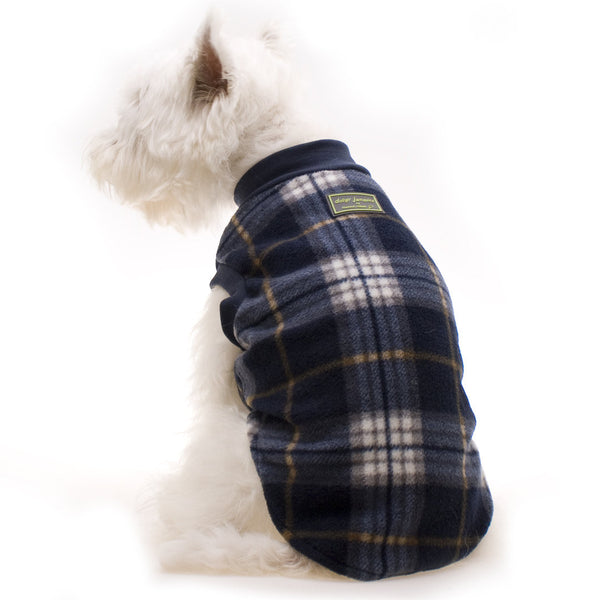 Dog Pyjamas | Blue Tartan