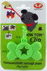 United Pets Bon Ton Bag Clip | Green | Peticular